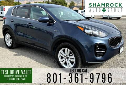 2018 Kia Sportage for sale at Shamrock Group LLC #1 in Pleasant Grove UT