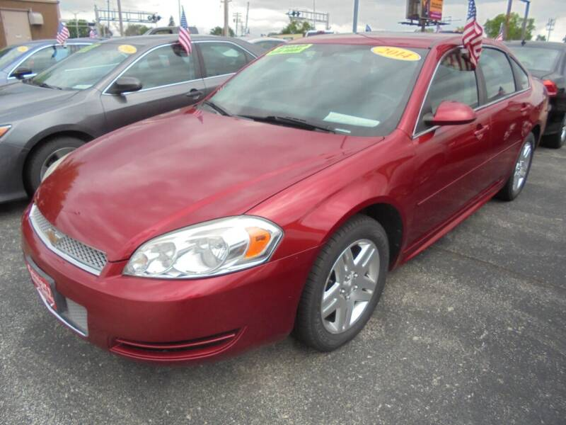 2014 Chevrolet Impala Limited for sale at Century Auto Sales LLC in Appleton WI