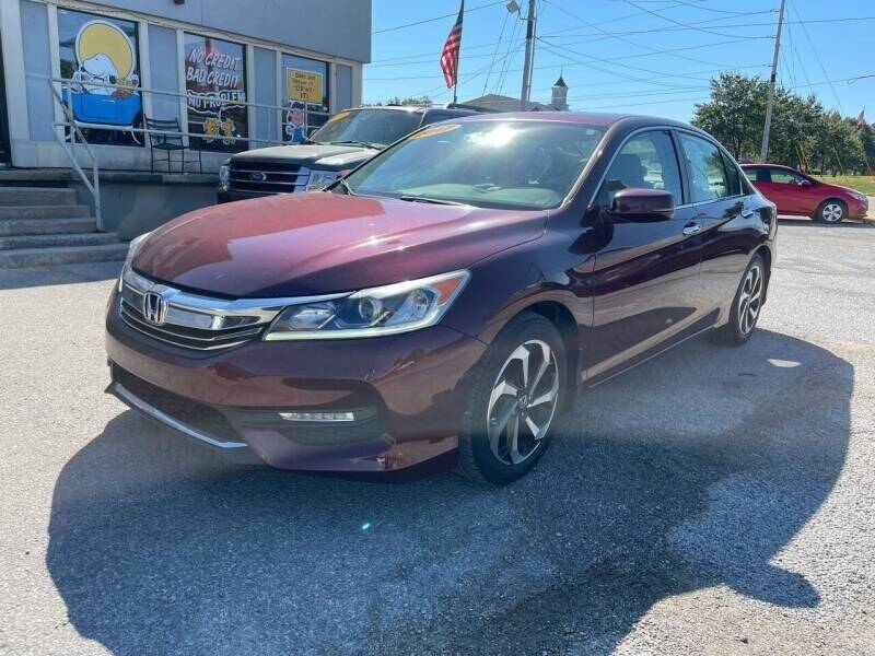 2017 Honda Accord for sale at Bagwell Motors in Lowell AR