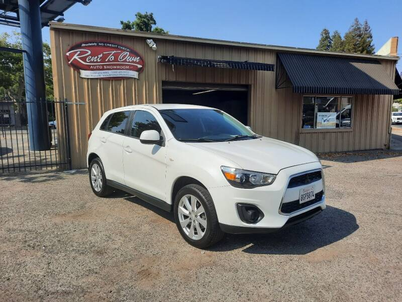 2015 Mitsubishi Outlander Sport for sale at Rent To Own Auto Showroom LLC - Finance Inventory in Modesto CA
