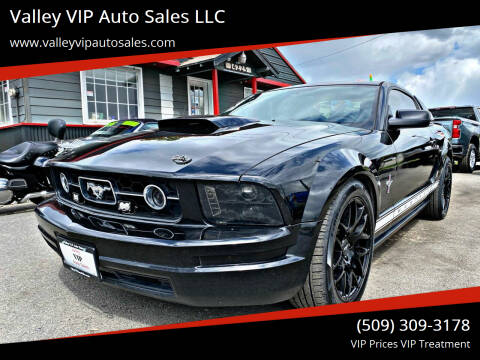 2007 Ford Mustang for sale at Valley VIP Auto Sales LLC in Spokane Valley WA