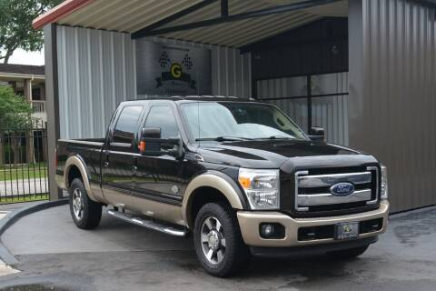 2014 Ford F-250 Super Duty for sale at G MOTORS in Houston TX