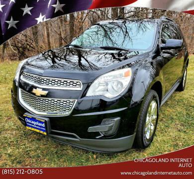 2013 Chevrolet Equinox for sale at Chicagoland Internet Auto - 410 N Vine St New Lenox IL, 60451 in New Lenox IL