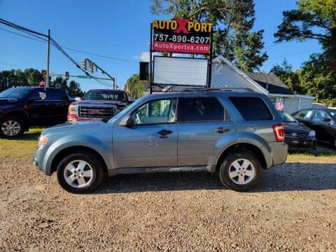 2012 Ford Escape for sale at Autoxport in Newport News VA