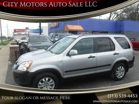 2005 Honda CR-V for sale at City Motors Auto Sale LLC in Redford MI