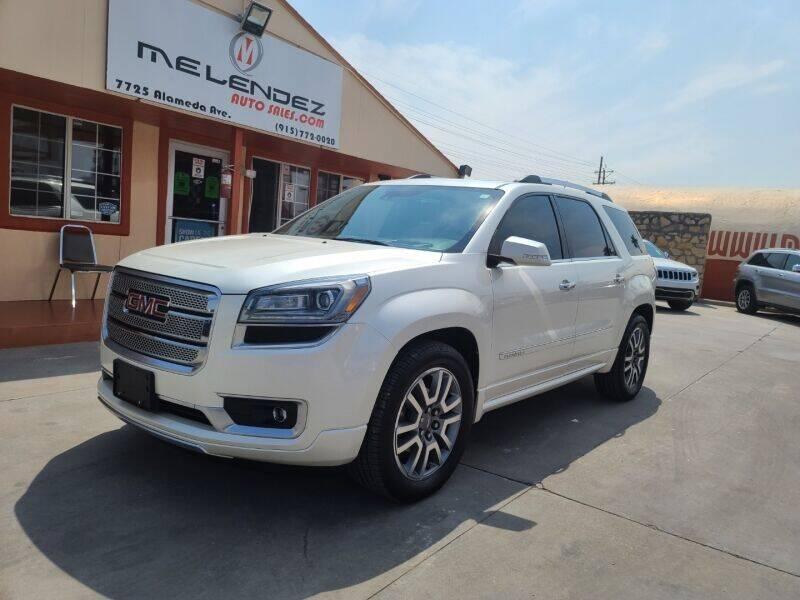 2014 GMC Acadia for sale in El Paso, TX
