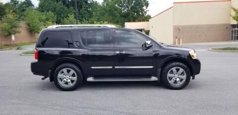 2011 Nissan Armada for sale at Lehigh Valley Autoplex, Inc. in Bethlehem PA