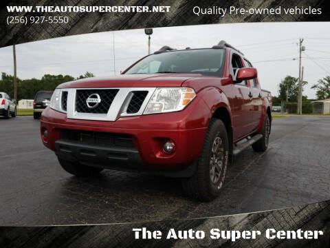 2019 Nissan Frontier for sale at The Auto Super Center in Centre AL