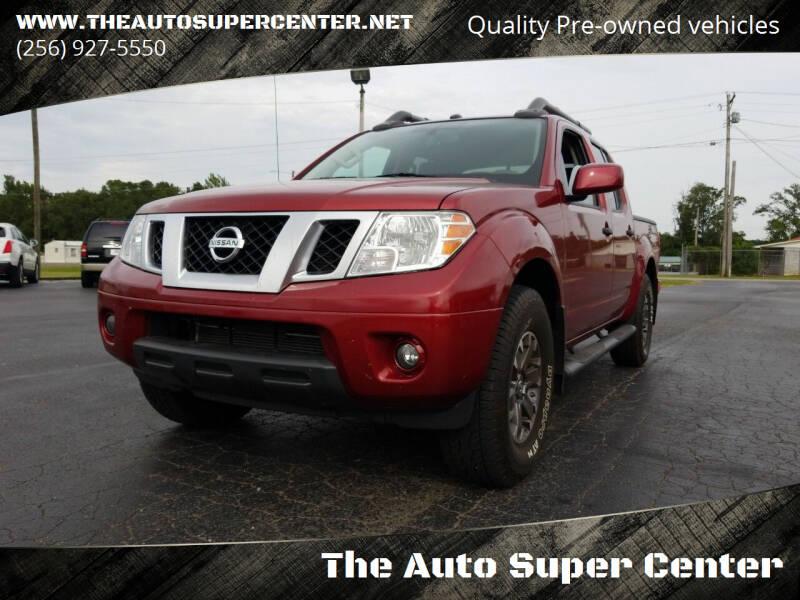 2019 Nissan Frontier for sale at The Auto Super Center in Centre AL