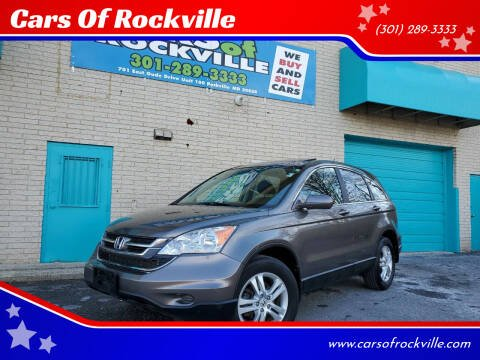 2010 Honda CR-V for sale at Cars Of Rockville in Rockville MD