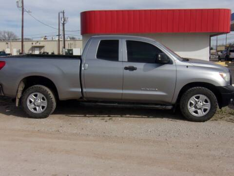 2013 Toyota Tundra for sale at A ASSOCIATED VEHICLE SALES in Weatherford TX