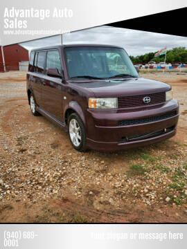 2005 Scion xB for sale at Advantage Auto Sales in Wichita Falls TX