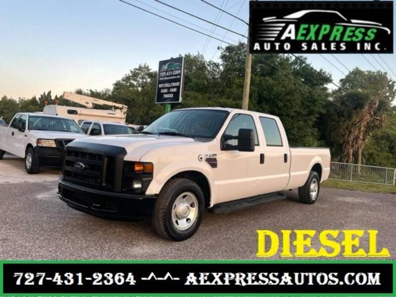 2008 Ford F-250 Super Duty for sale at A EXPRESS AUTO SALES INC in Tarpon Springs FL