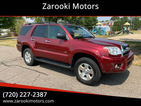 2008 Toyota 4Runner for sale at Zarooki Motors in Englewood CO