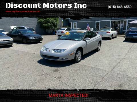 2001 Saturn S-Series for sale at Discount Motors Inc in Madison TN