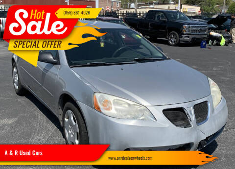 2006 Pontiac G6 for sale at A & R Used Cars in Clayton NJ