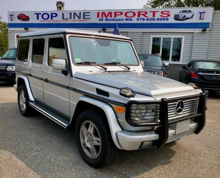2005 Mercedes-Benz G-Class for sale at Top Line Import in Haverhill MA