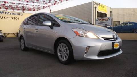 2014 Toyota Prius v for sale at El Guero Auto Sale in Hawthorne CA