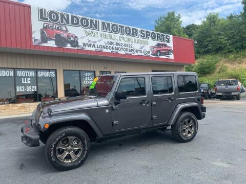 2018 Jeep Wrangler JK Unlimited for sale at London Motor Sports, LLC in London KY