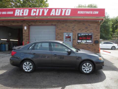 2009 Subaru Impreza for sale at Red City  Auto in Omaha NE