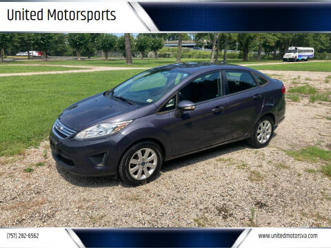 2013 Ford Fiesta for sale at United Motorsports in Virginia Beach VA