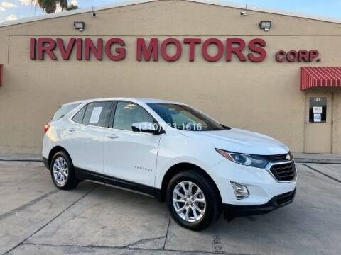 2018 Chevrolet Equinox for sale at Irving Motors Corp in San Antonio TX