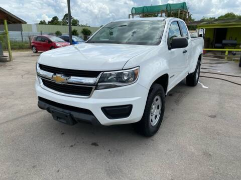 2015 Chevrolet Colorado for sale at RODRIGUEZ MOTORS CO. in Houston TX