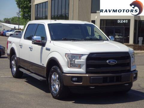 2015 Ford F-150 for sale at RAVMOTORS 2 in Crystal MN