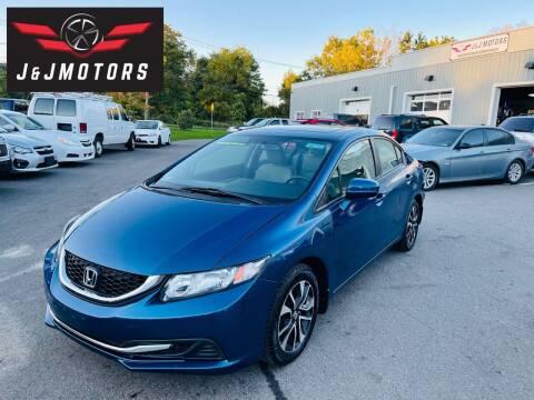 2014 Honda Civic for sale at J & J MOTORS in New Milford CT