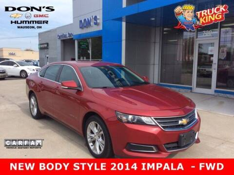 2014 Chevrolet Impala for sale at DON'S CHEVY, BUICK-GMC & CADILLAC in Wauseon OH