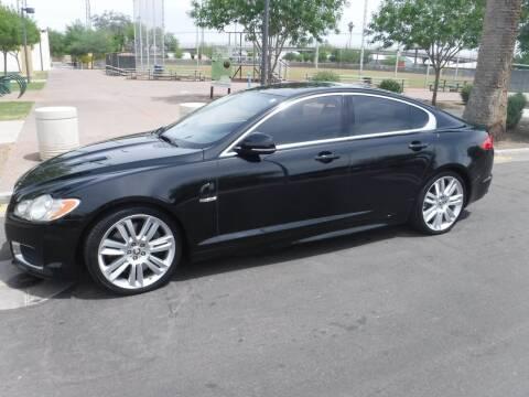 2010 Jaguar XF for sale at J & E Auto Sales in Phoenix AZ