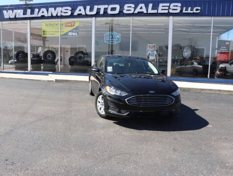 2019 Ford Fusion for sale at Williams Auto Sales, LLC in Cookeville TN