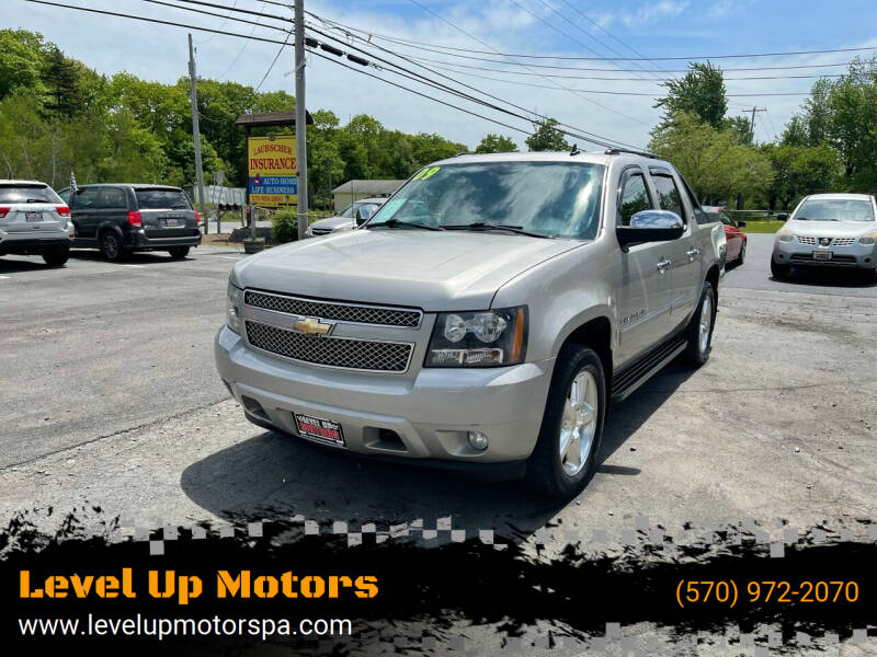 2009 Chevrolet Avalanche for sale at Level Up Motors in Tobyhanna PA
