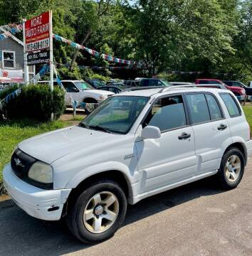 2000 Suzuki Grand Vitara for sale at Korz Auto Farm in Kansas City KS