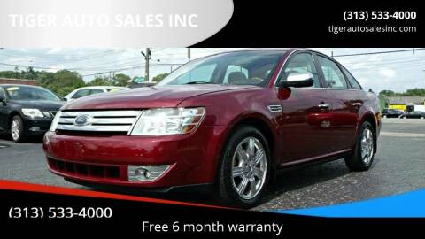 2008 Ford Taurus for sale at TIGER AUTO SALES INC in Redford MI