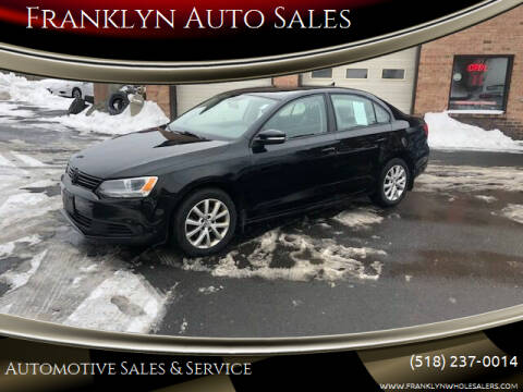 2012 Volkswagen Jetta for sale at Franklyn Auto Sales in Cohoes NY