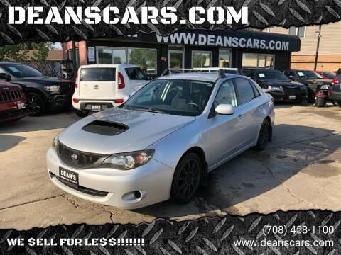 2008 Subaru Impreza for sale at DEANSCARS.COM in Bridgeview IL