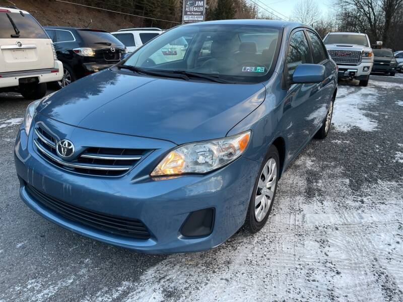2013 Toyota Corolla for sale at JM Auto Sales in Shenandoah PA