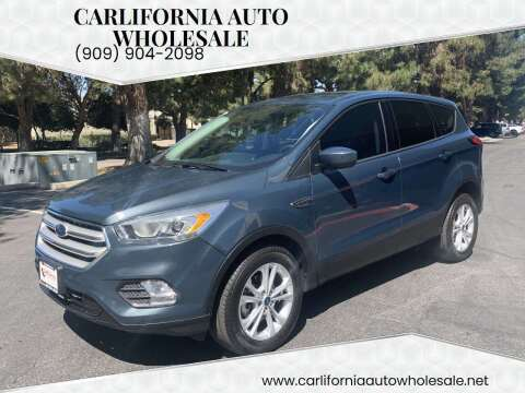 2019 Ford Escape for sale at CARLIFORNIA AUTO WHOLESALE in San Bernardino CA