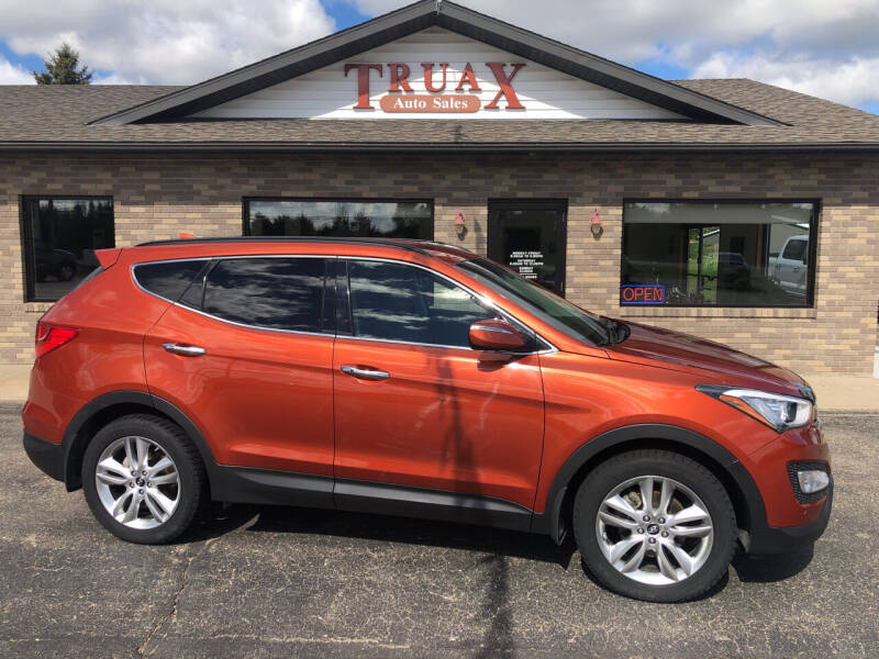 2013 Hyundai Santa Fe Sport for sale at Truax Auto Sales Inc. in Deer Creek MN