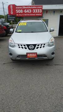 2012 Nissan Rogue for sale at Z Best Auto Sales in North Attleboro MA