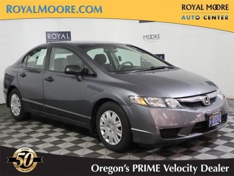 2010 Honda Civic for sale at Royal Moore Custom Finance in Hillsboro OR