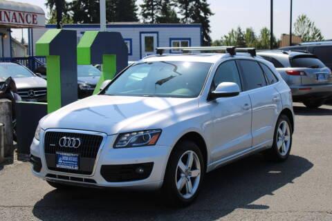 2012 Audi Q5 for sale at BAYSIDE AUTO SALES in Everett WA