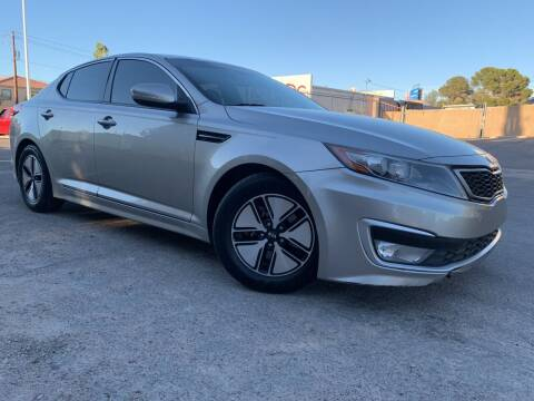 2012 Kia Optima Hybrid for sale at Boktor Motors in Las Vegas NV