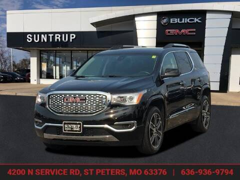 2018 GMC Acadia for sale at SUNTRUP BUICK GMC in Saint Peters MO