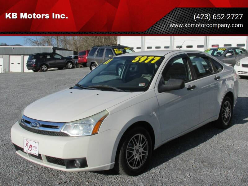 2011 Ford Focus for sale at KB Motors Inc. in Bristol VA