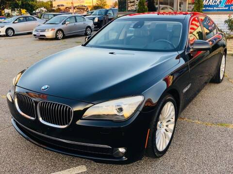 2012 BMW 7 Series for sale at Mack 1 Motors in Fredericksburg VA