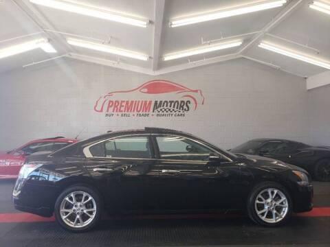 2012 Nissan Maxima for sale at Premium Motors in Villa Park IL
