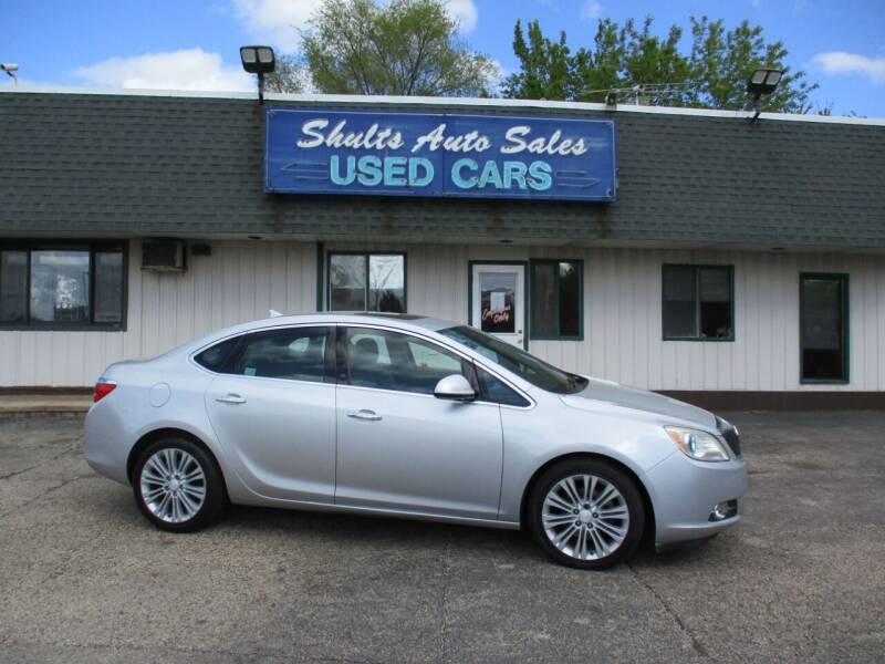 2013 Buick Verano for sale at SHULTS AUTO SALES INC. in Crystal Lake IL