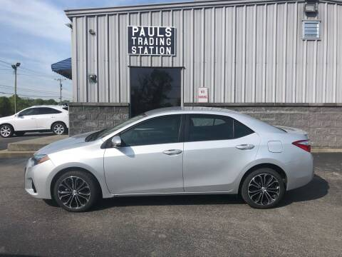 2016 Toyota Corolla for sale at Ron's Auto Sales (DBA Paul's Trading Station) in Mount Juliet TN